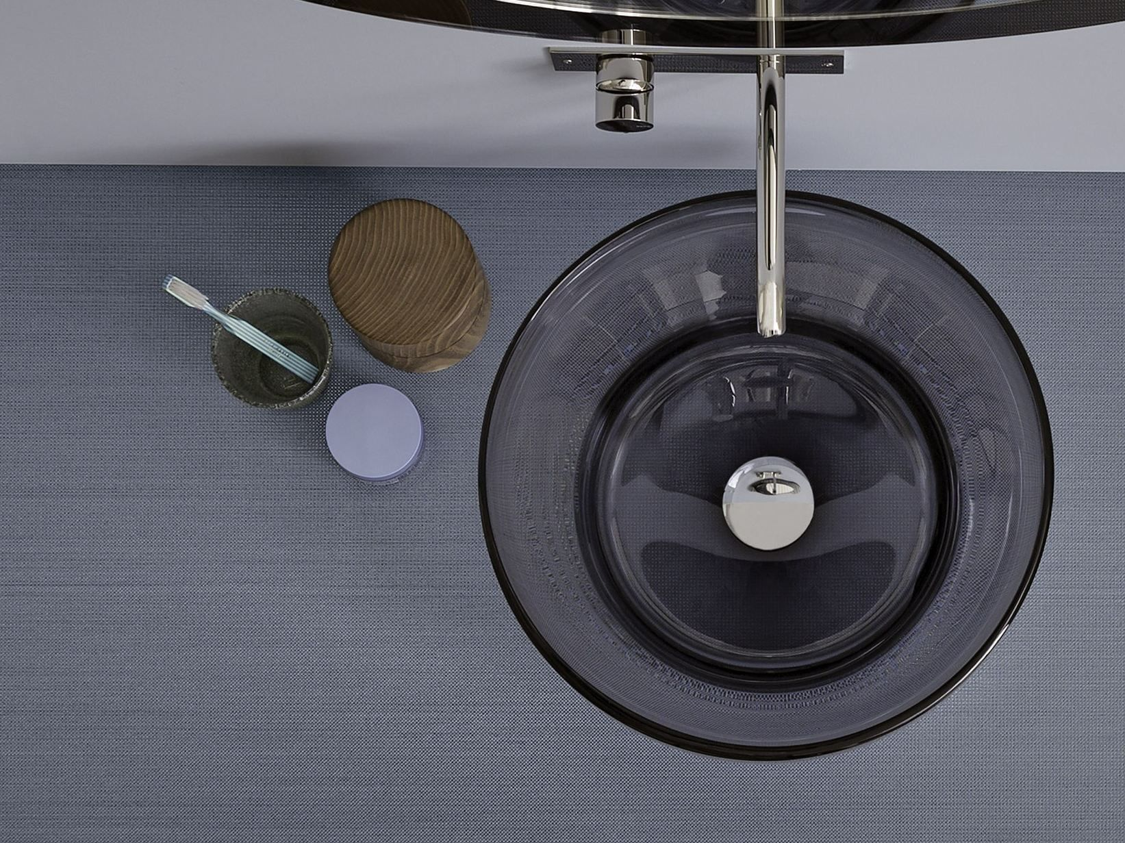 Countertop Murano glass washbasin MURANO - Rexa Design | Guest ...