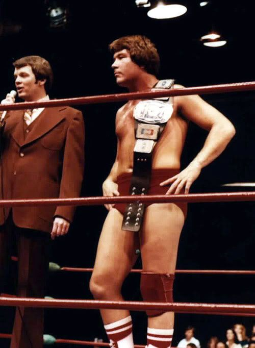 NWA Missouri Champion Ted DiBiase (With images) | Pro wrestling ...