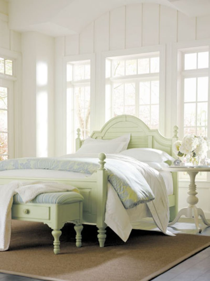 Pastel painted furniture from the coastal living collection home