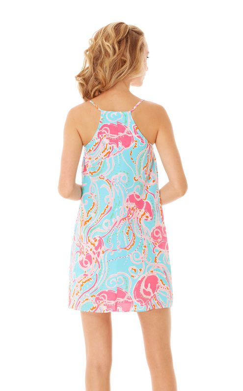 b8069eaac810 Dusk Strappy Slip Dress in jellies be jammin - lilly pulitzer ...