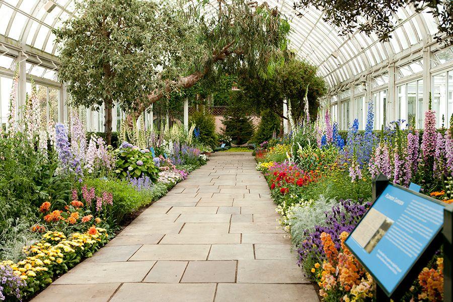 Bronx Botanic Garden Mrs Rockefeller S Garden In The 400 x 300
