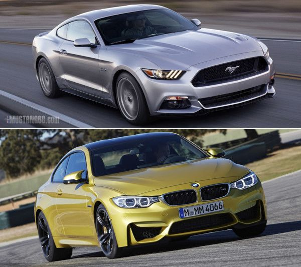 2015 Ford Mustang GT Will Compete This Year With One Of BMWs Finest Models BMW M4