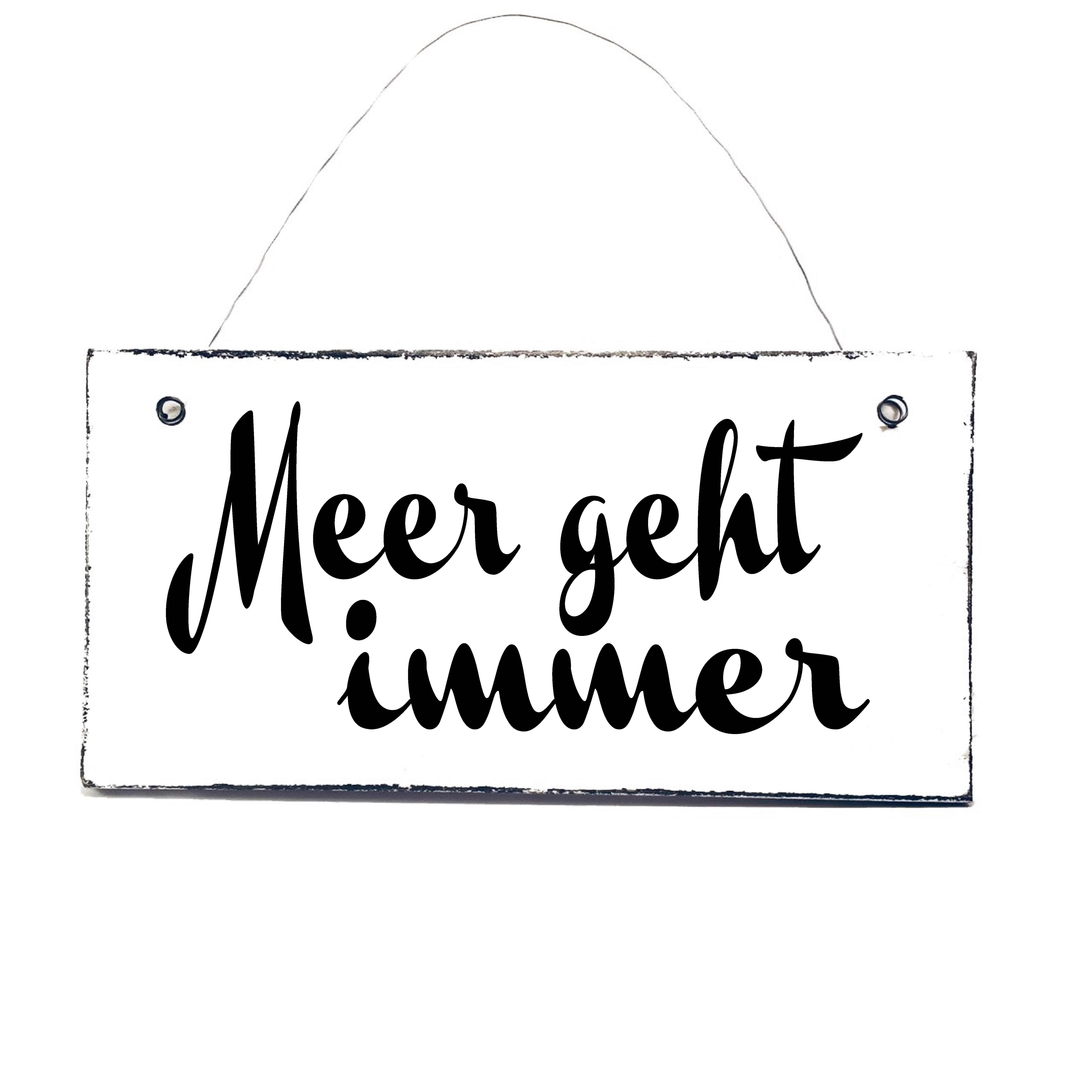 Photo of Gerne täglich … Schild von www.doerpkind.de