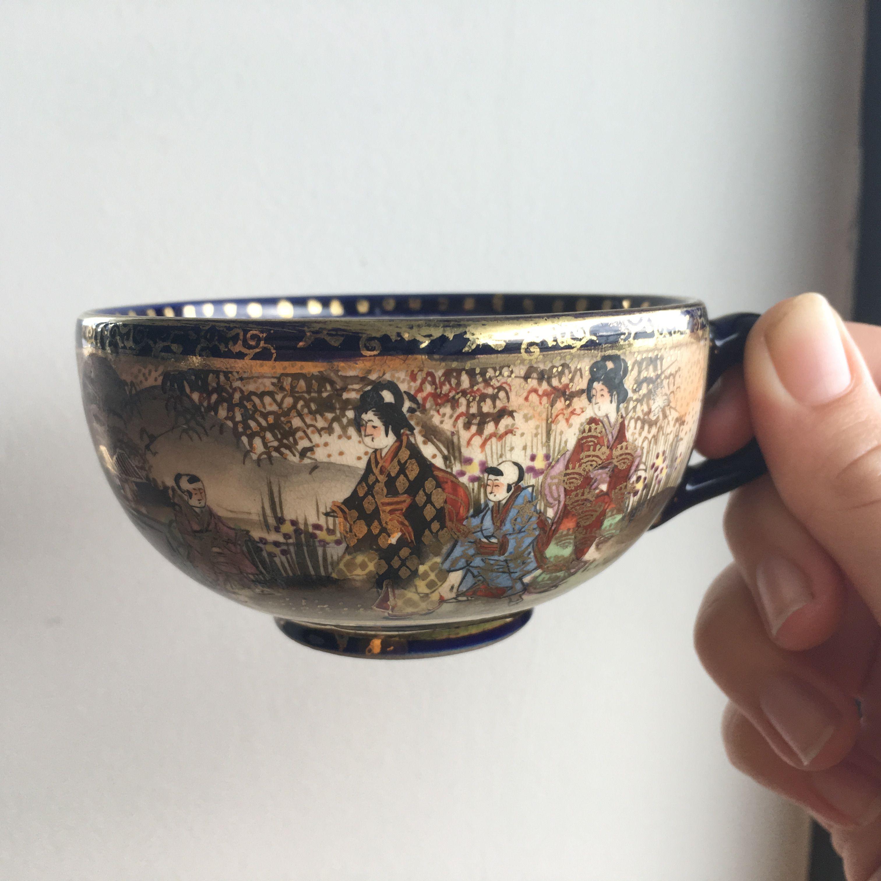 Beautiful Vintage Cup X Etsy China Vintage Vintagechina Oriental Sydney Japan Chinese Japanese Tea Vintage Vintage China