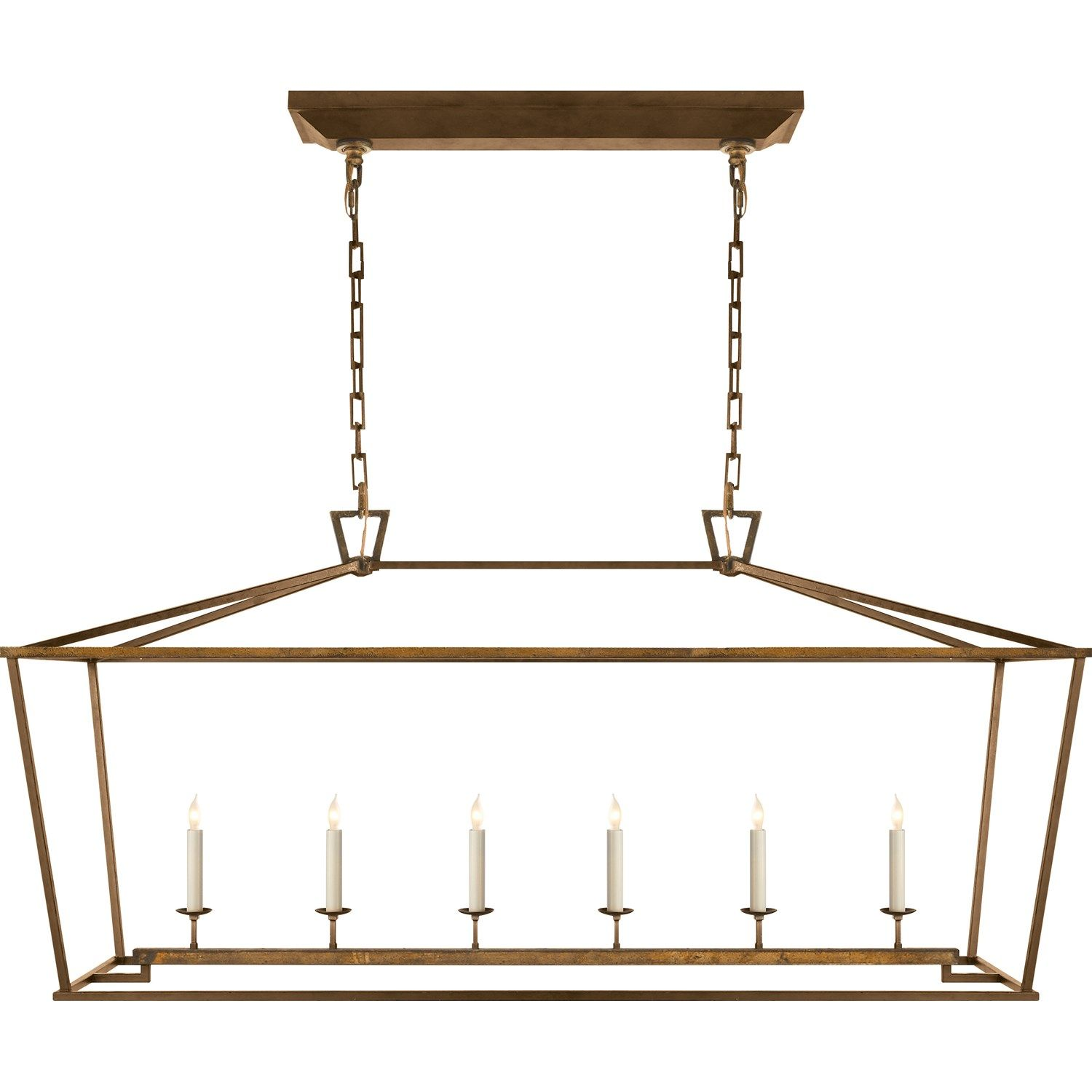 Kitchen Table Idea   Must Hang With Very Little Chain Showing. Visual  Comfort CHC2166 Darlana Part 73