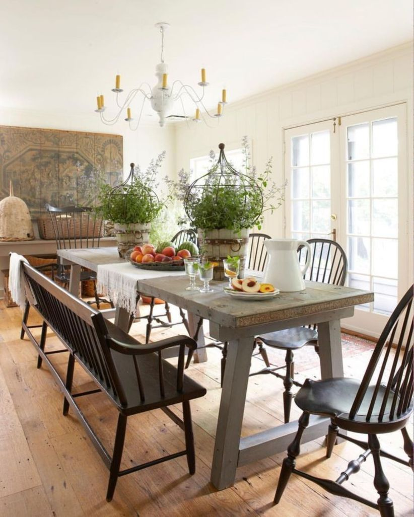 48 Farmhouse Dining Room Design Ideas Farmhouse
