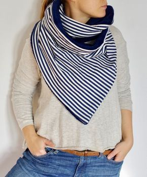 Photo of Homemade wrap scarf! With pdf tutorial