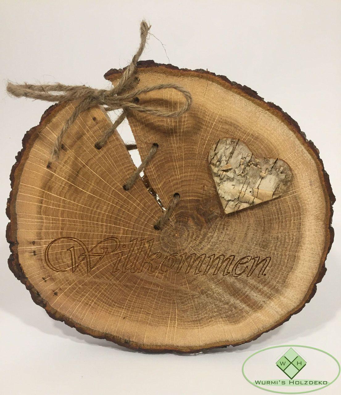 Baumscheiben Deko Artikel Wunderschone Produkte Aus Baumscheiben