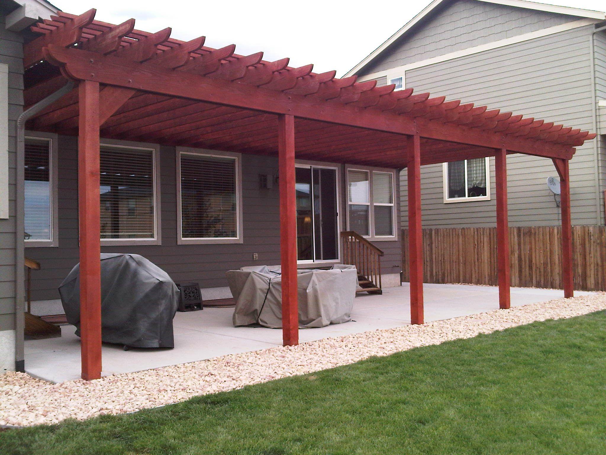 Casco Construction Corp Pergola Timber Pergola Deck With Pergola