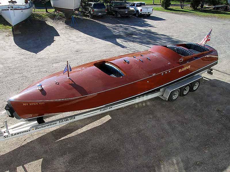 32 Feet 2000 Golden Era Classics Gentleman S Racer Boat Classic