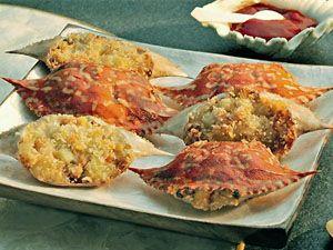 Rellenong Alimasag Recipe Panlasang Pinoy Meaty Recipes Recipe Yummy Foodies Cooking Crab Recipes