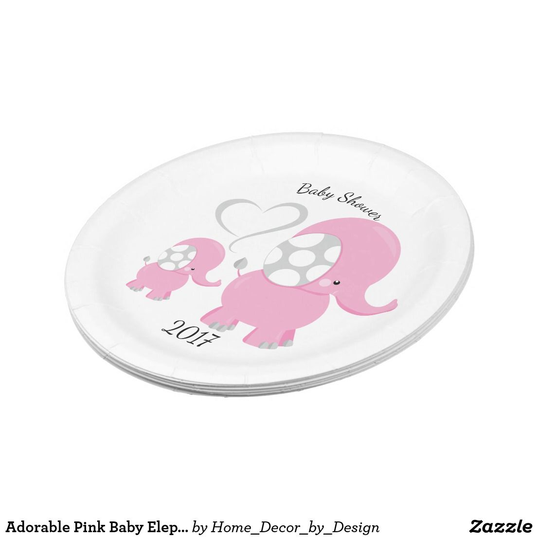 Elephant Baby Baby Gifts Paper Plates Napkins Gift Ideas  sc 1 st  Pinterest & Pin by Painted Dreams Designs on Paper Plates and Napkins | Pinterest