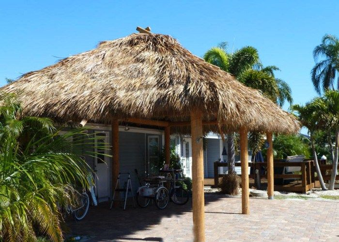 Kahuna Tiki Huts Just Completed A Hut For Client In St James City Fl