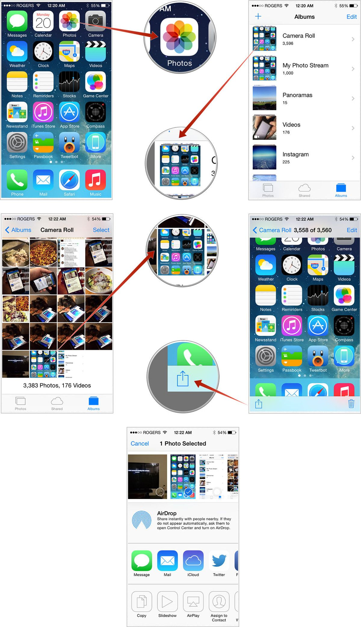 Taking a screenshot on iPhone 11, 11 Pro, and 11 Pro Max