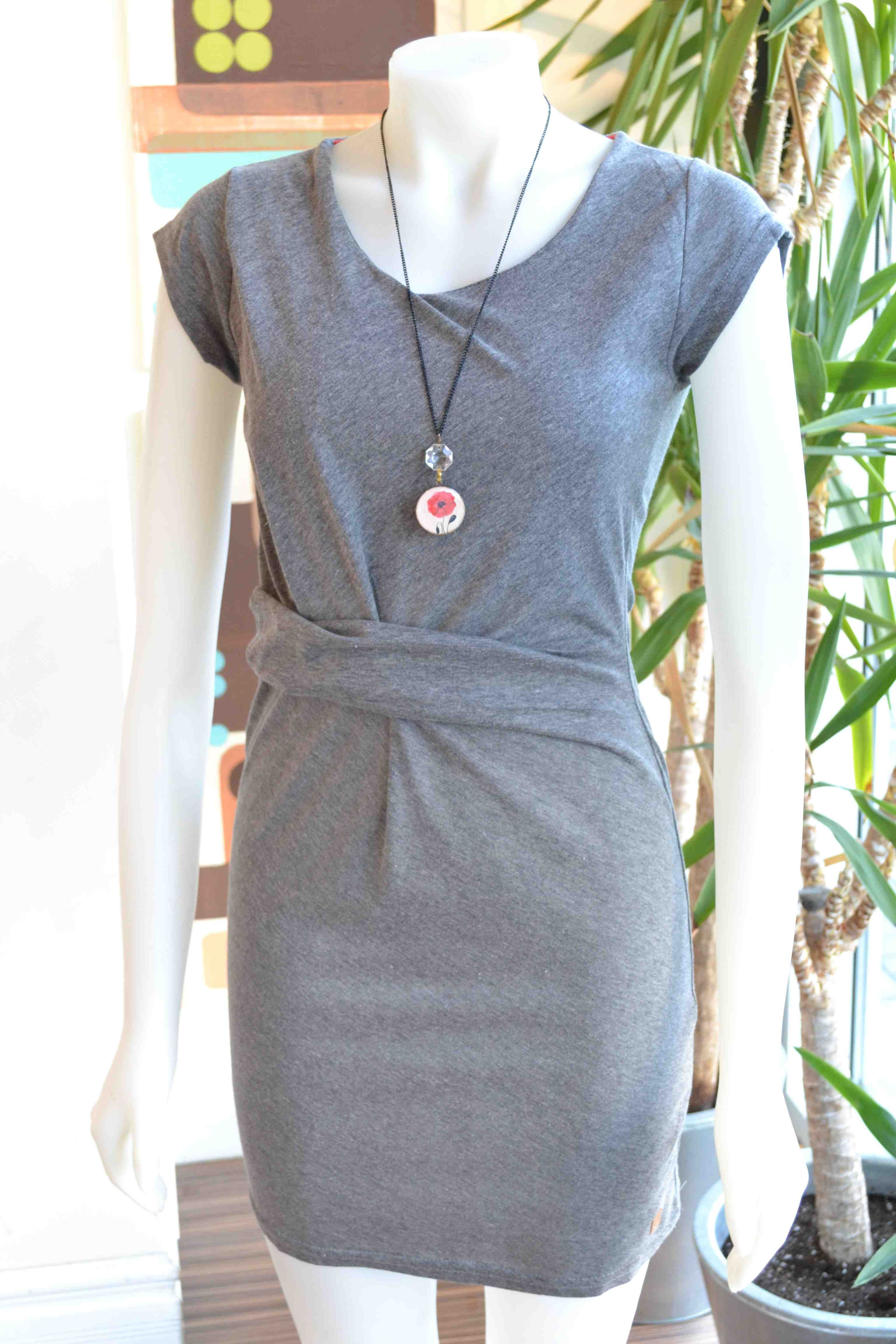 Numph grey tunic dress Spring 2013 fashion