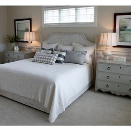 Matching Dressers On Each Side And Window Above Doable