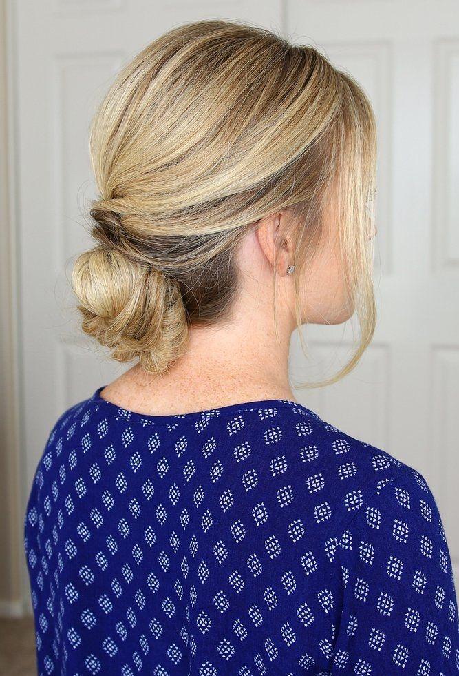 Schöne Brötchen Frisur Ideen für Mädchen   Frisuren für