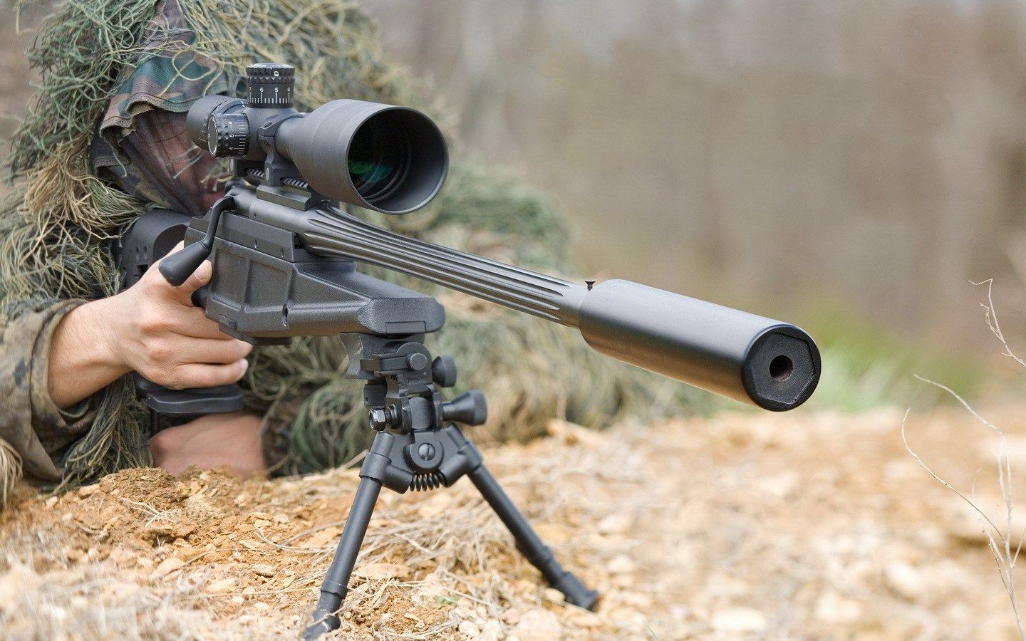 Sniper Rifle Wallpaper Pictures Free Fraser Gill 1440x900