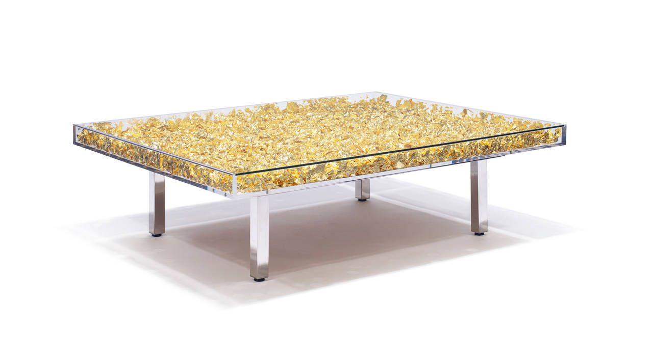 Monogold Table By Yves Klein In 2019 Apartment Yves Klein Art
