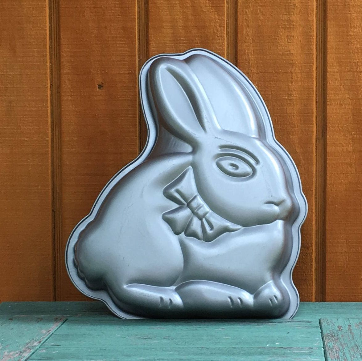 Easter Bunny Rabbit Cake Pan Cottontail With Bow Form