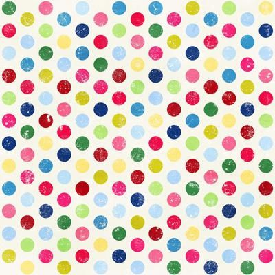 Colorful Polka Dot Paper: Polka Dot Tags: Another Free Printable