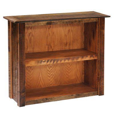 Fireside Lodge Reclaimed Barnwood Standard Bookcase