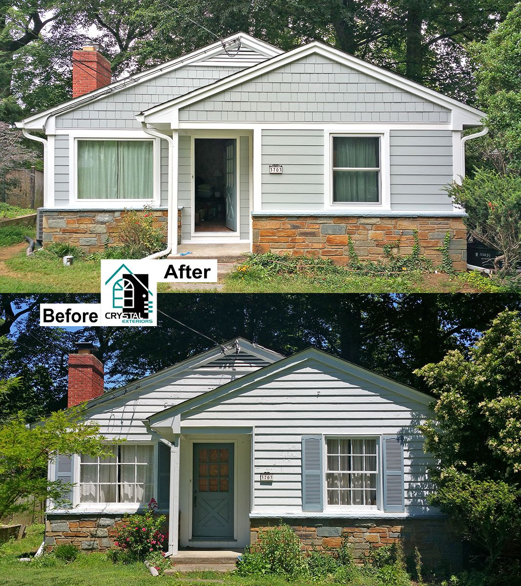 Remove Worn Out Wood Siding, Add Fiberglass Insulation To