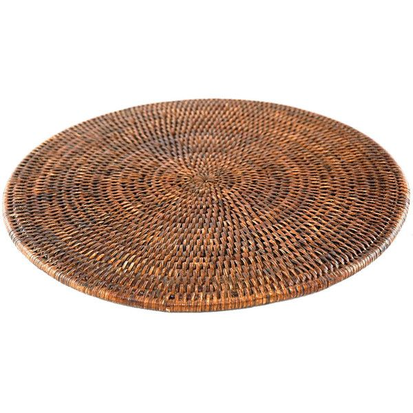 Baolgi Round Placemat Brown Placemats Round Table Mats Placemats
