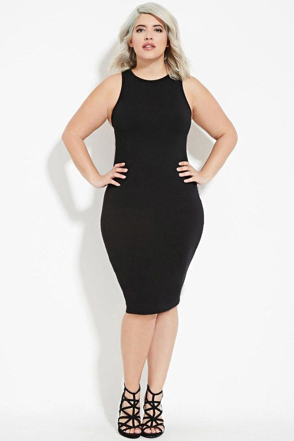 FOREVER 21+ Plus Size Tank Dress | Fashion For The Curvy Woman ...