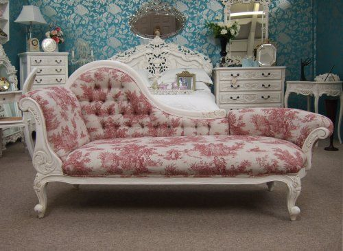 Reupholster A Chaise Lounge In One Of Our Floral Prints, And Create This  Look.