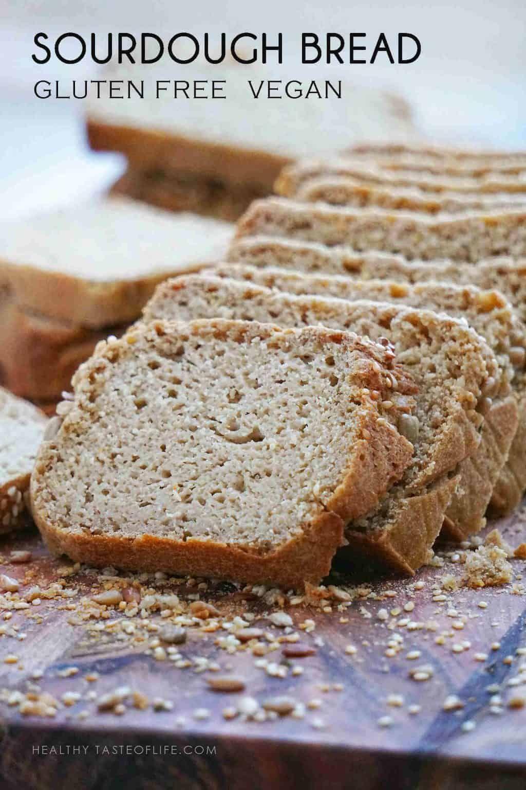 Vegan Gluten Free Sourdough Bread Recipe, Yeast Free, Gum ...