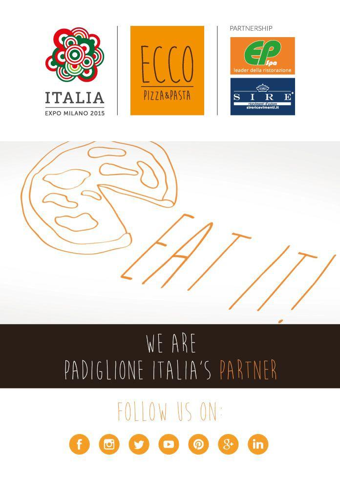 Eat IT! #EccoPizzaePasta #PadiglioneItalia #Expo2015 #Napoli #Milano #food