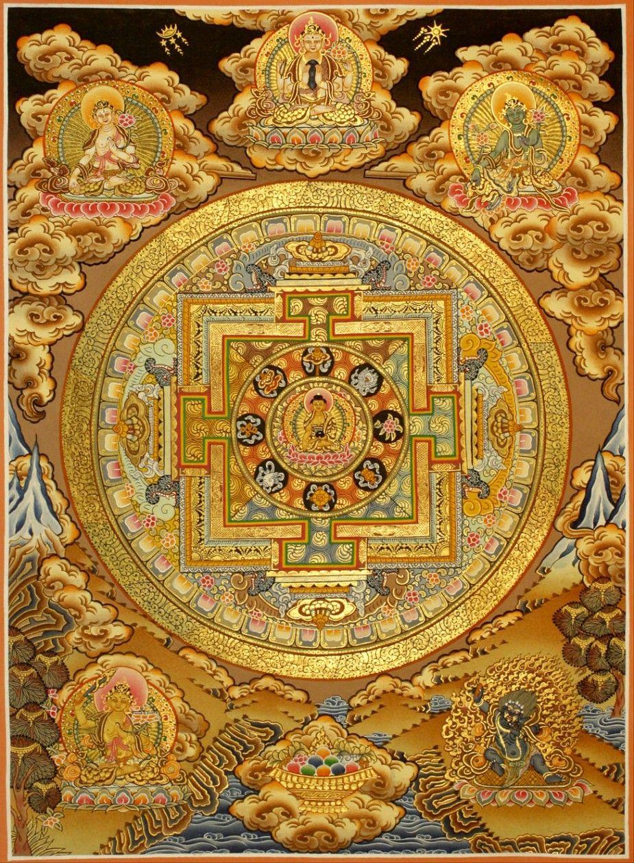 Tibetan Thangka traditionalartofnepal.com #Tibetan #Thangka ...