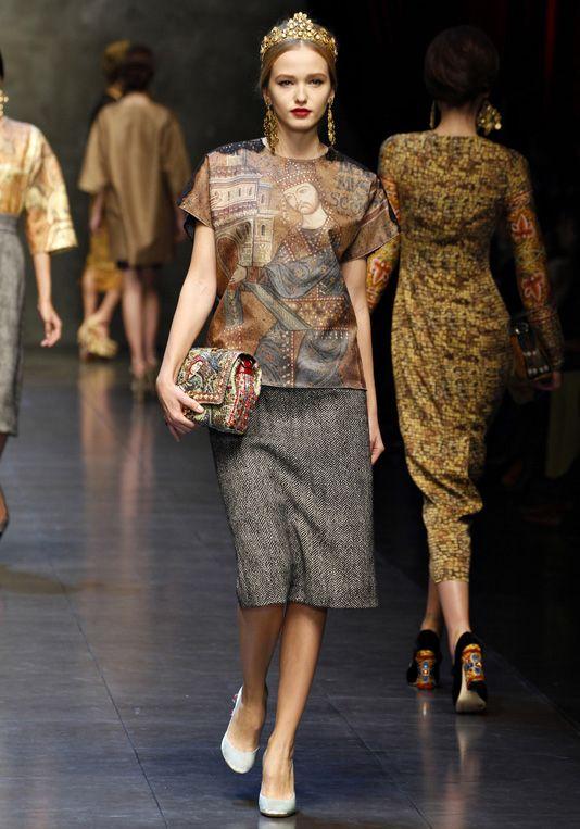 Dolce & Gabbana -- fall 2013
