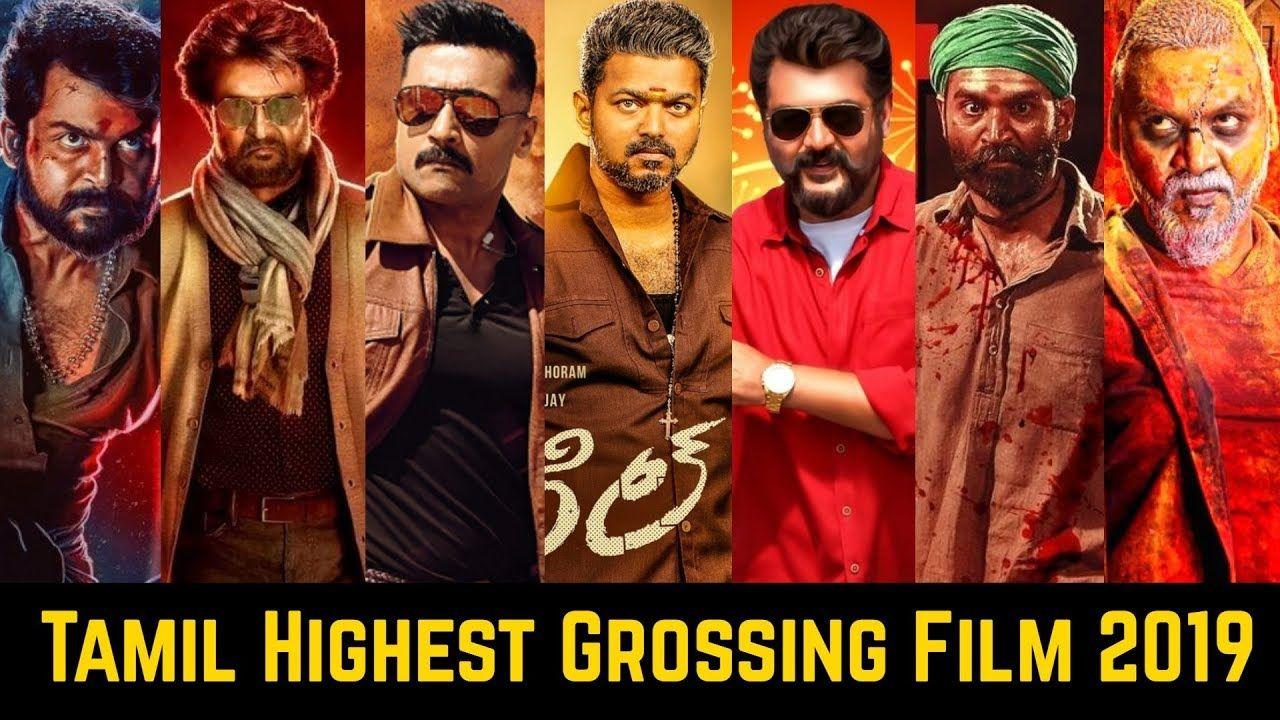 20 Tamil Highest Grossing Movies List Of 2019 Vijay Ajith Kumar Raji Highest Grossing Movies Romantic Comedy Film Indian Movies