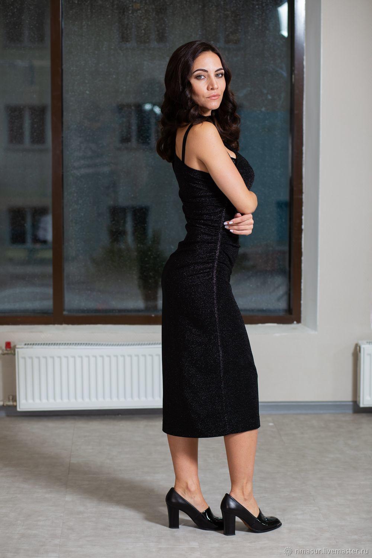Платья ручной работы. Заказать Копия работы Вечернее платье на одно плечо с  драпировкой и лампасами. NATALINI. Ярмарка Мастеров. 6777e3c604e15