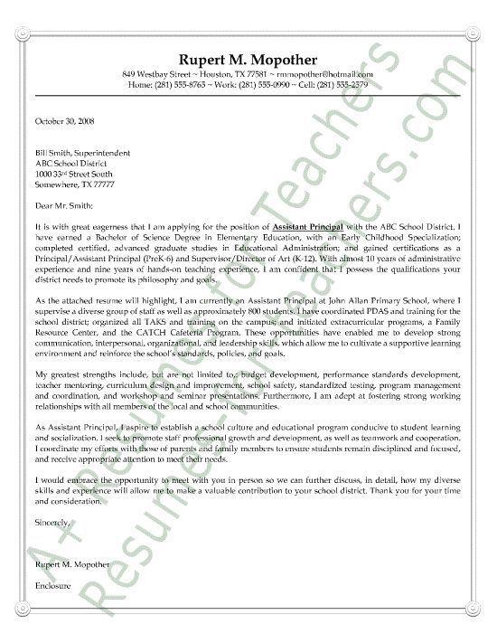aspiring assistant principal resume sample