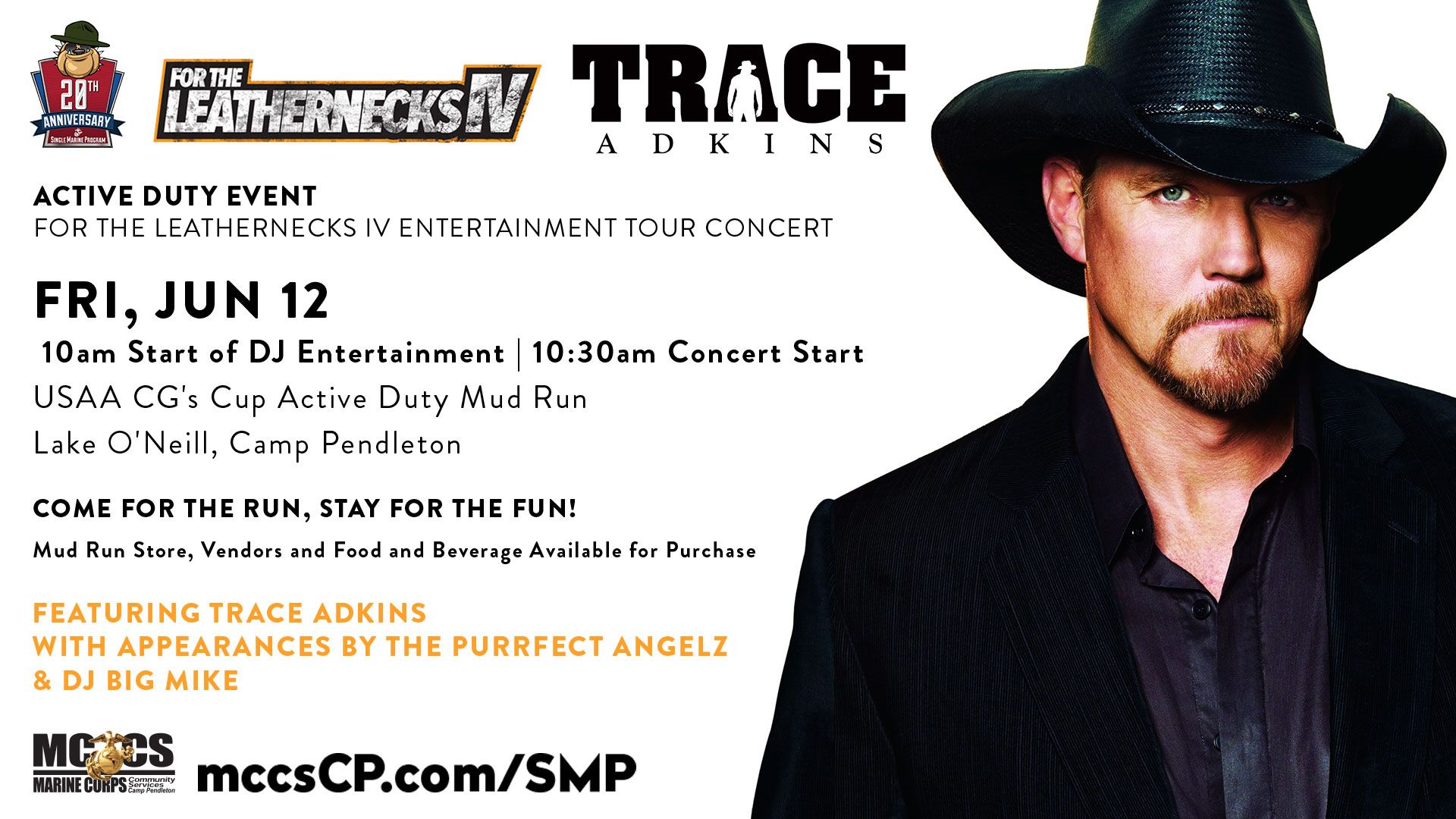Jun 12 for the leathernecks iv featuring country singer trace jun 12 for the leathernecks iv featuring country singer trace adkins with appearances by purrfect angelz and dj big mike at lake oneill kristyandbryce Choice Image