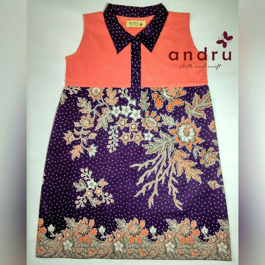 Batik Anak Cibulan Sakura Batik Anak Pinterest Dresses