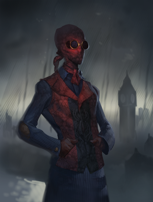 Spiderman London by Arthur Gimaldinov