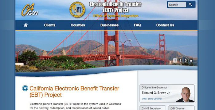 California EBT Card Sign Up Register for EBTProject.ca