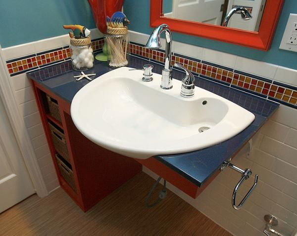 wheelchair accessible bathroom sinks. Handicap-Accessible-Sink-In-Magnificent-Home-Decorating-Ideas- Wheelchair Accessible Bathroom Sinks A