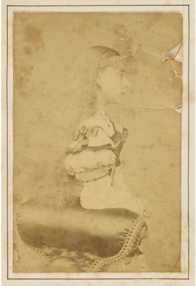 Princess Beatrice of the United Kingdom in the late 1860s