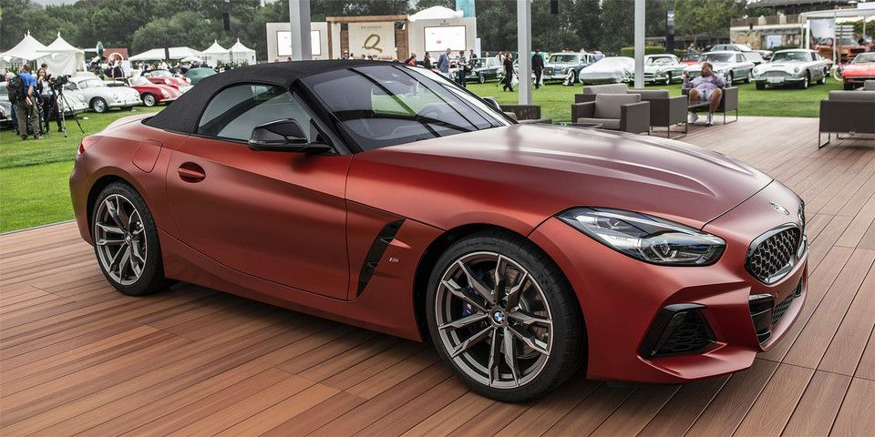 Bmw Officially Introduces The 2019 Z4 M40i Roadster First Edition Bmw Z4 Bmw Futuristic Cars
