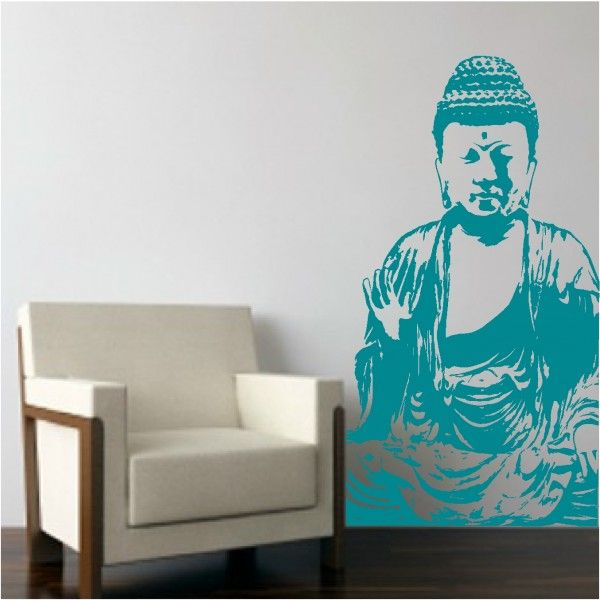 You Too Can Be Enlightened With This Beautiful Buddha Wall Decal. Simply  Stunning And So Serene Place This Any Place You Need To Acheive Some Peace  And ...