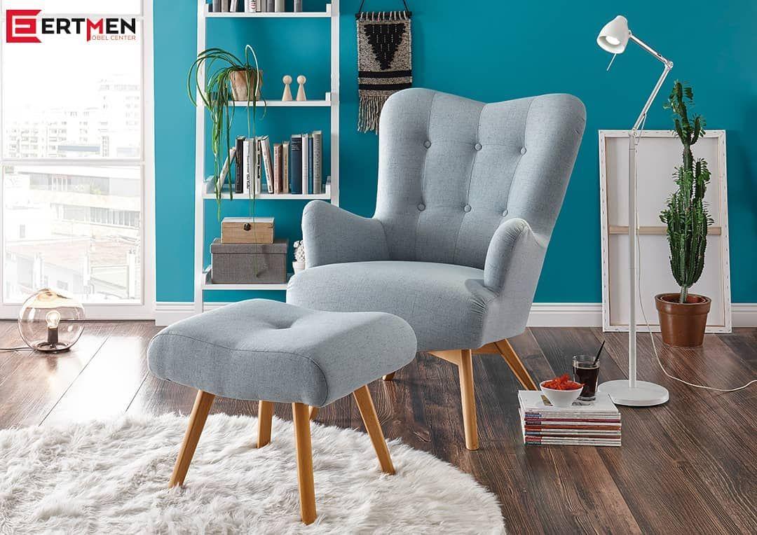 Der Sessel eignet sich besonders gut für gemütliche ...