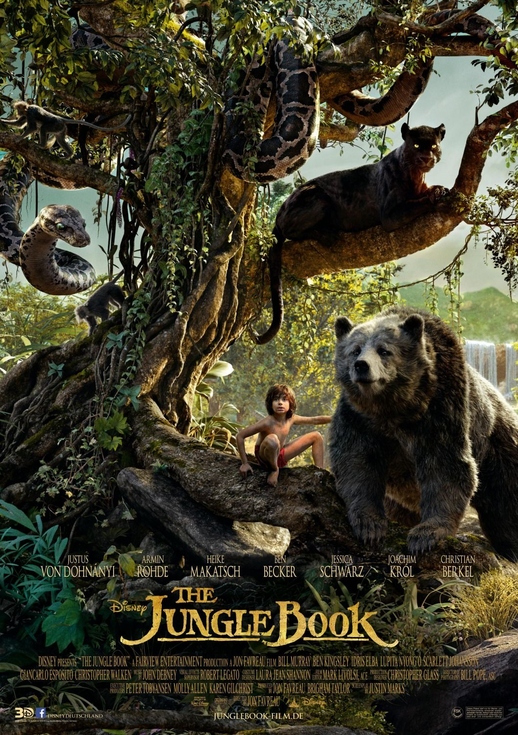 THE JUNGLE BOOK (2016) - IMAX Preview, Featurette and 14 ...