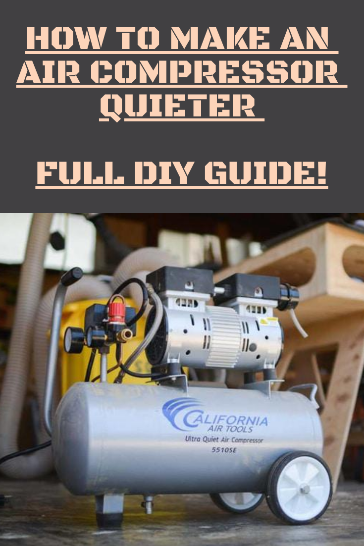 Use these 10 powerful air compressor noise reduction tips