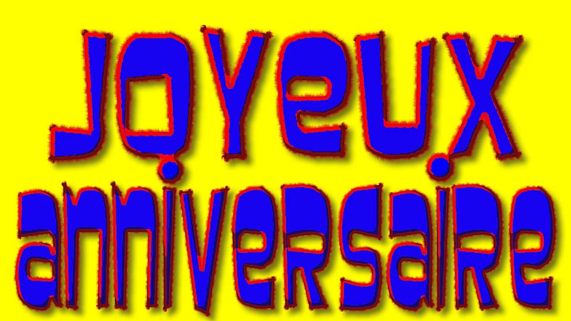 Joyeux Anniversaire (Happy Birthday in French) (avec