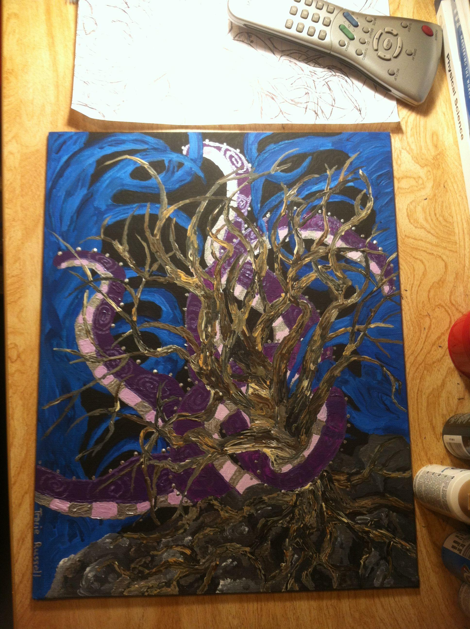 Acrylic art my arts painting